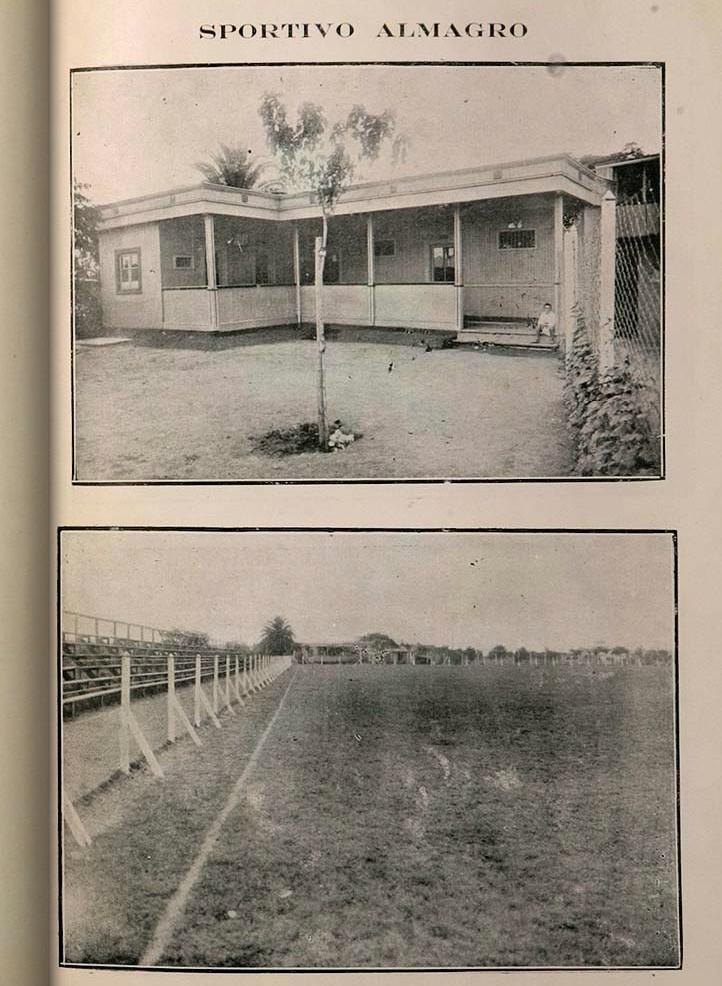 1922 - sportivo almagro - Memoria Correspondiente al Ejercicio 1922