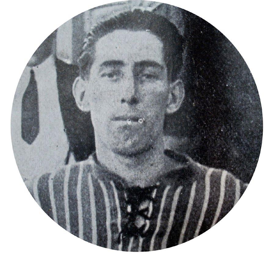 1923 - Ernesto Vieyro defensor de Sportivo de Almagro