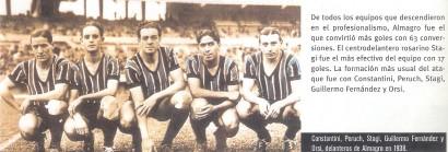 1938 - delantera almagro