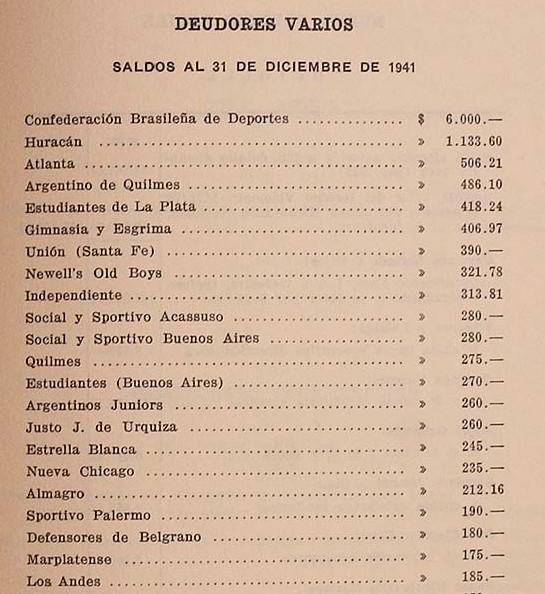 1941 - deuda