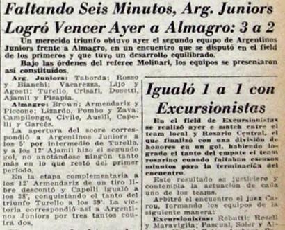 1942 ARGENTINOS - ALMAGRO
