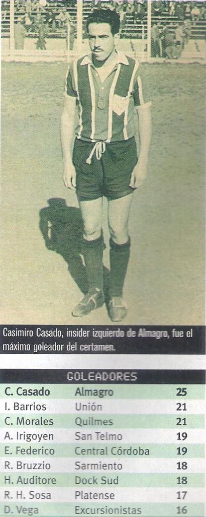1957 goleador casado