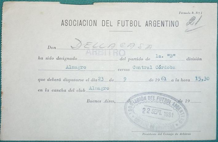 1961 - almagro vs c cordoba - citacion