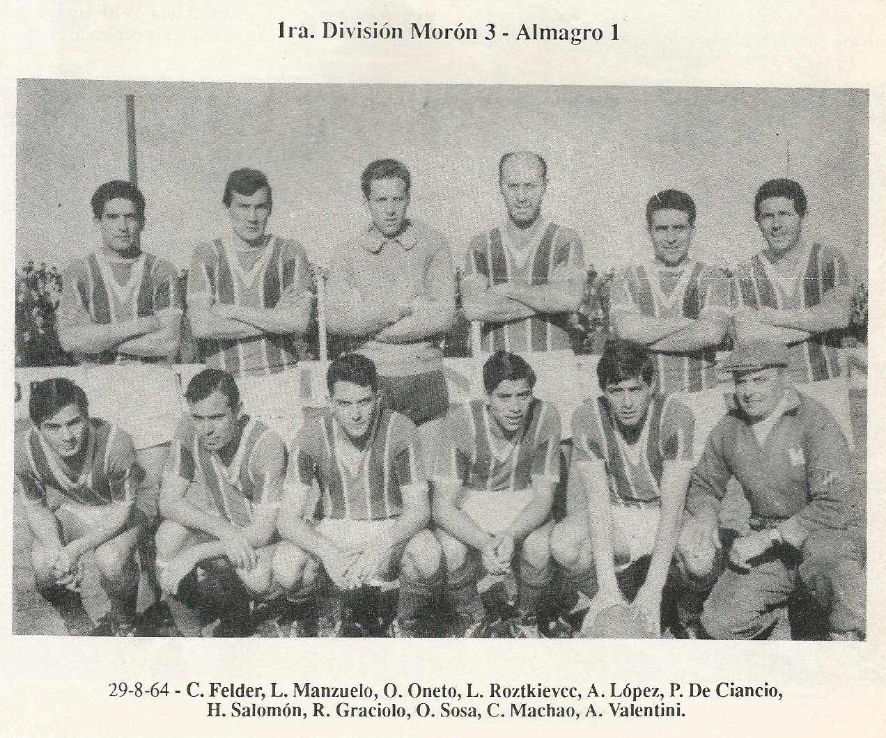 1964 - moron vs almagro