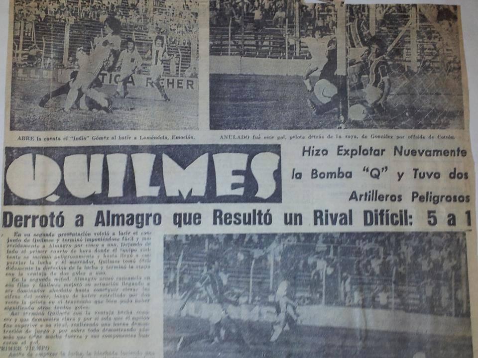 1975 - quilmes - almagro