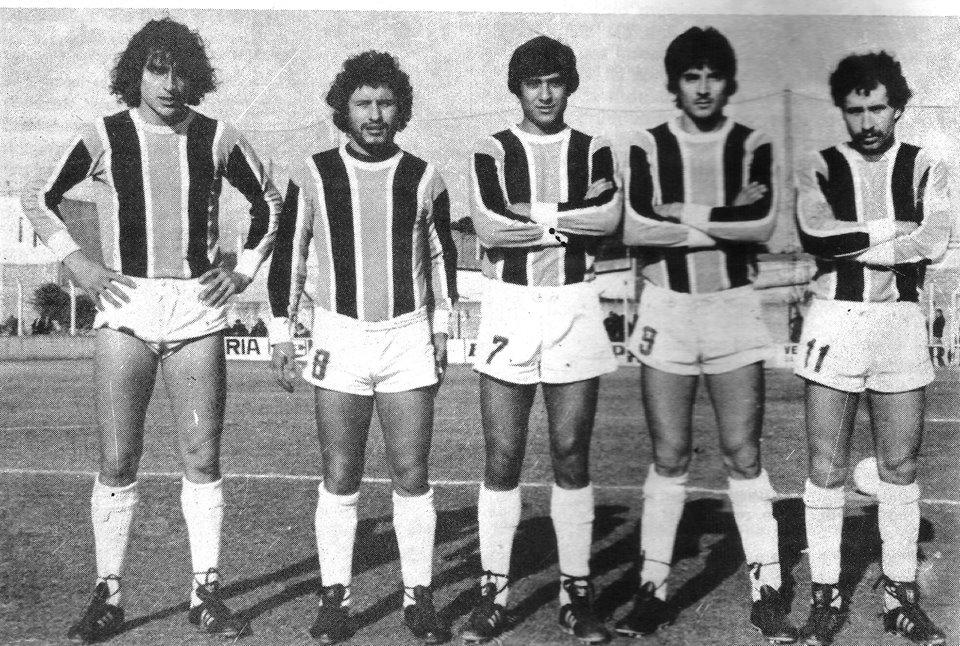 1983 Jose Esposito , Gomez , Omar Catalan , Daniel Rojas y Fernandez