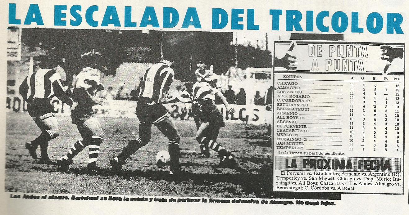 1990 - los andes vs almagro -a