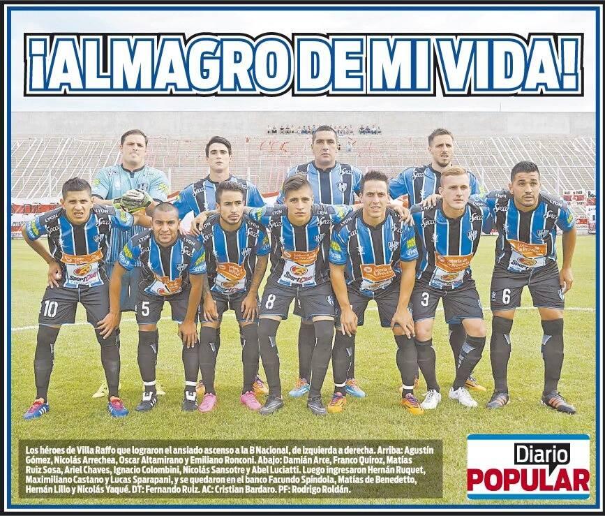 2015 poster final moron - diario popular