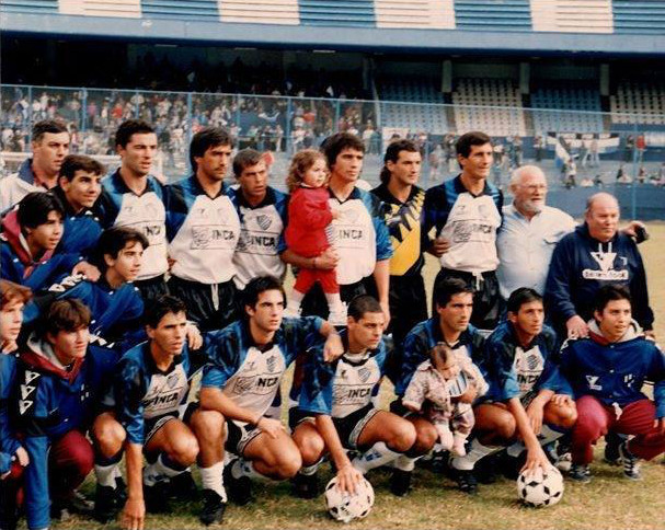 Almagro 1996 Final contra italiano en cancha de Racing