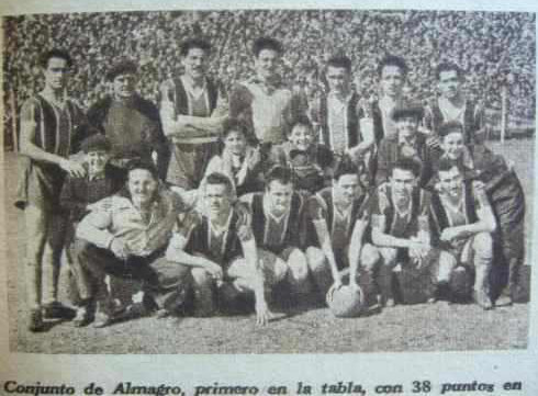 Empate ALMAGRO vs CENTRAL-el-grafico-1679-ano-1951