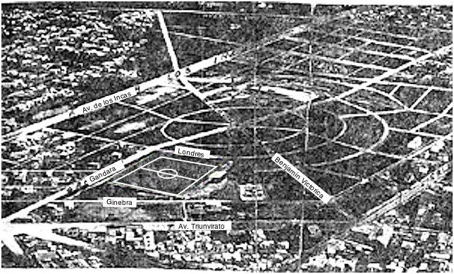 Parque Chas entre 1927 y 1937