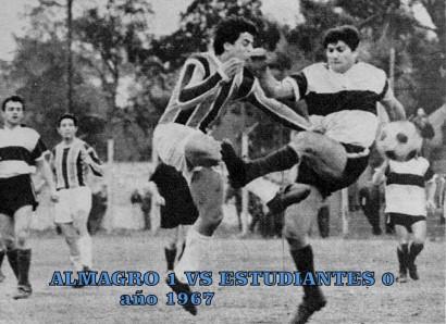 almagro - estudiantes 1967 a