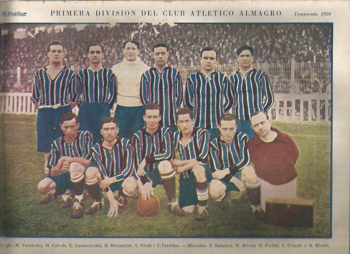 el-grafico-poster-equipo-club-atletico-almagro-temp-1928