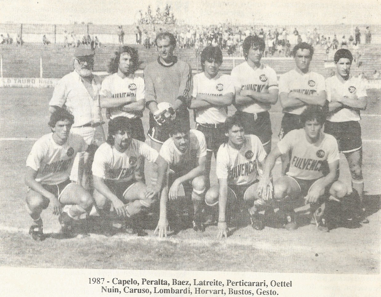 1987 - equipo